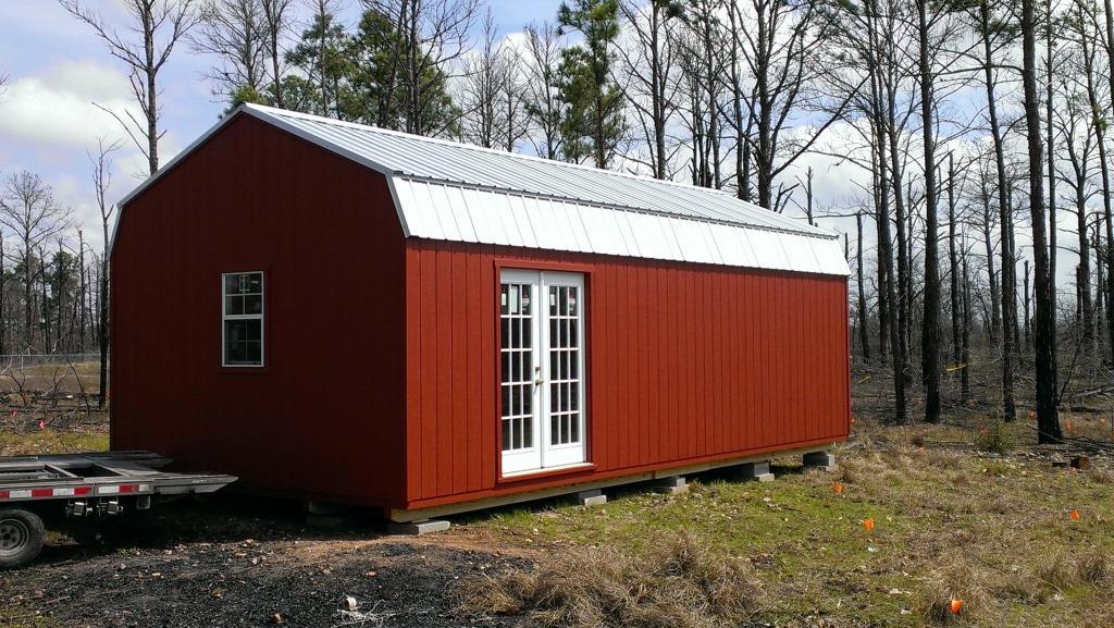 Dutch Style - Portable Lofted Barn Sheds - Portable ...